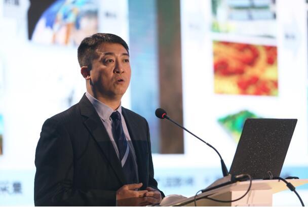 中科星图高级副总裁胡煜做专题报告