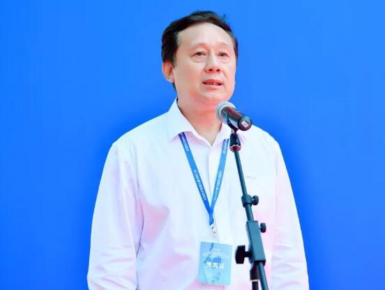 北京安全防范行业协会理事长单志刚在开幕式上致辞。