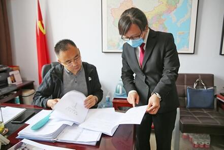 温县法院科技助力提升解纷质效