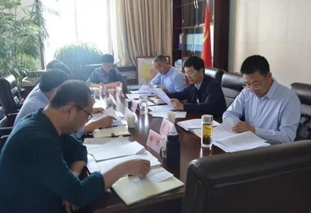 白银市委政法委组织学习贯彻习近平总书记训词精神