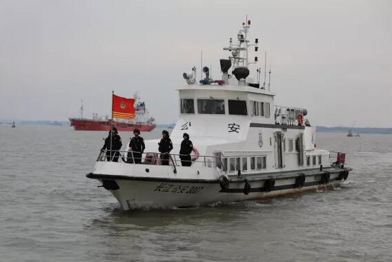 镇江政法狠抓严打 保护长江生态